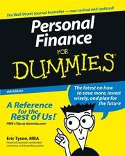 Cover of: Personal Finance for Dummies