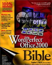 Cover of: WordPerfect Office 2000 bible