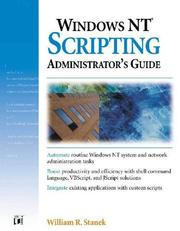 Cover of: Windows Nt Scripting Administrator's Guide