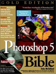 Cover of: Photoshop 5 Bible | Deke McClelland