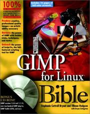 Cover of: GIMP for Linux bible | Stephanie Cottrell Bryant