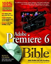 Cover of: Adobe Premiere 6 bible | Seth Greenberg