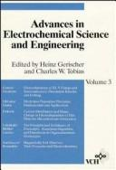 Cover of: Volume 3, Advances in Electrochemical Science and Engineering |