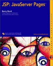 Cover of: JSP | Barry A. Burd