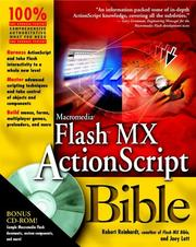 Cover of: Macromedia Flash MX ActionScript Bible