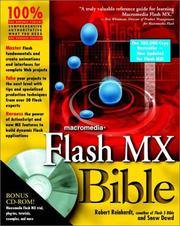 Cover of: Flash MX Bible
