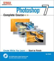 Cover of: Photoshop 7 complete course