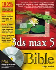 Cover of: 3ds Max 5 bible | Kelly Murdock