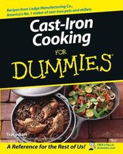 Cover of: Cast Iron Cooking for Dummies | Tracy Barr