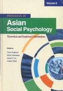 Cover of: Progress in Asian Social Psychology | Toshio Sugiman
