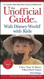 Cover of: The Unofficial Guide to Walt Disney World with Kids