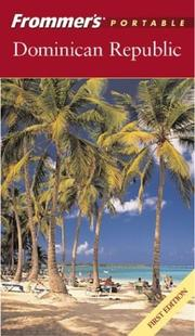 Cover of: Frommer's Portable Dominican Republic