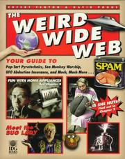 Cover of: The weird wide Web