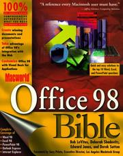 Cover of: Macworld Office 98 bible