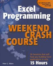 Cover of: Excel Programming Weekend Crash Course