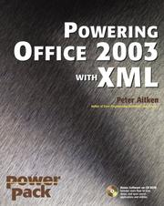 Cover of: Powering Office 2003 with XML