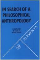 Cover of: In Search Of A Philosophical Anthropology