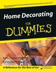 Cover of: Home Decorating for Dummies | Katharine Kaye McMillan