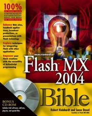 Cover of: Macromedia Flash MX 2004 bible