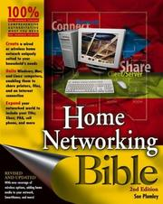 Cover of: Home Networking Bible