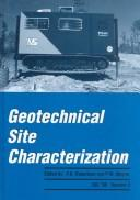Cover of: Geotechnical site characterization