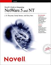 Cover of: Novell's guide to integrating NetWare 5 and NT