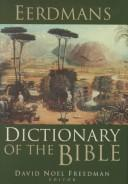 Cover of: Eerdmans Dictionary of the Bible |