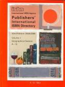 Publishers' International ISBN Directory 2005/2006 (Publishers' International Isbn Directory// Internationales Verlagsadressbuch Mit Isbn-Register) by