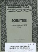 Cover of: String Quartet No. 1