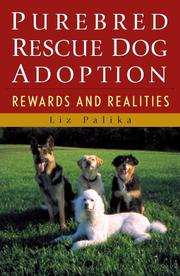 Cover of: Purebred Rescue Dog Adoption: Rewards and Realities