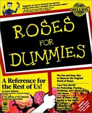 Cover of: Roses for dummies
