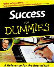 Cover of: Success for dummies | Zig Ziglar