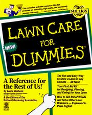 Cover of: Lawn care for dummies