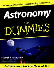Cover of: Astronomy for dummies