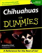 Cover of: Chihuahuas for dummies