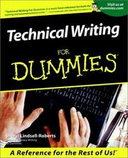 Cover of: Technical Writing for Dummies