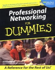 Cover of: Professional Networking for Dummies