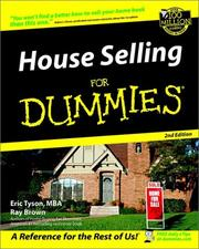 Cover of: House selling for dummies