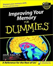 Cover of: Improving your memory for dummies | John Boghosian Arden