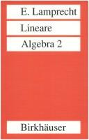 Cover of: Lineare Algebra 2