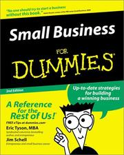 Cover of: Small business for dummies