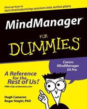 MindManager for dummies by Hugh Cameron