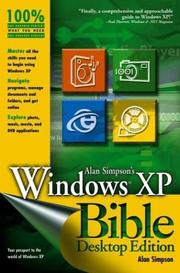 Cover of: Windows XP bible