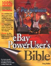 Cover of: eBay PowerUser's Bible
