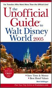 Cover of: The Unofficial Guide to Walt Disney World 2005