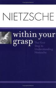 Cover of: Nietzsche Within Your Grasp