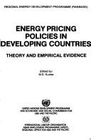 Cover of: Energy Pricing Policies in Developing Countries