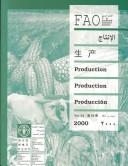 Cover of: FAO Yearbook Fishery Statistics 2000