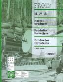 Cover of: Forest Products/Produits Forestiers/Productos Forestales