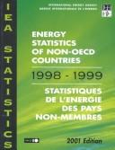 Cover of: Energy Statistics of Non-Oecd Countries 1998/1999 | Iea